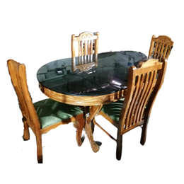 Homemate Four Seat Dining Table Set Ideal For Snack Time Homeschooling Homework And More Blush Pink M155a Attinkara